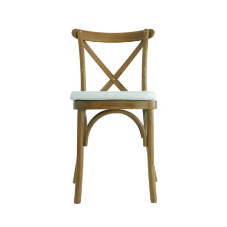 For Sale - Light Fruitwood Wooden Crossback