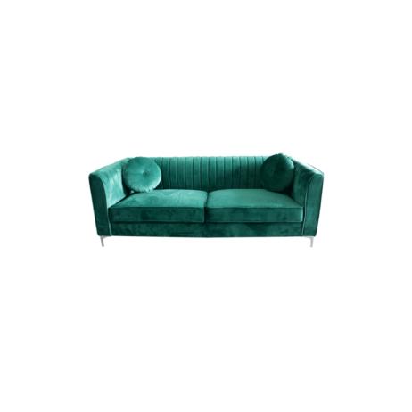 Rentals - Emerald Velvet 3-Seater Sofa