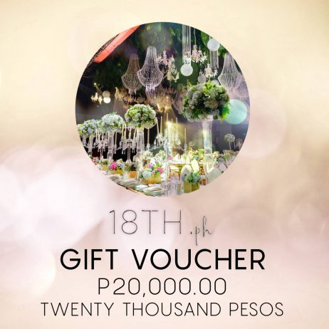 ₱ 20,000.00 Electronic Gift Voucher