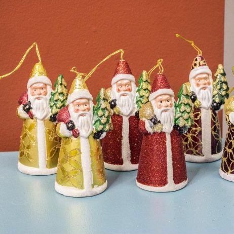 Christmas Decors - Mini Santa Claus Hanging Ornament (6 pcs per Pack)