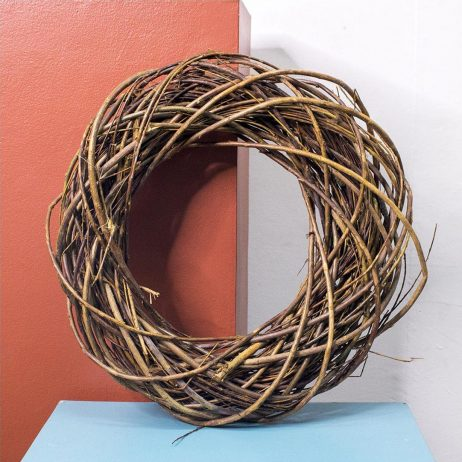 Christmas Decors - Wreath - Natural Twigs 18 inches diameter (from Holland)