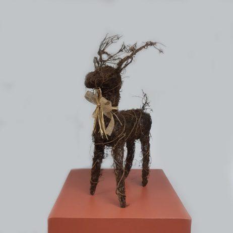Christmas Decors - Grapevine Reindeer (Tall)