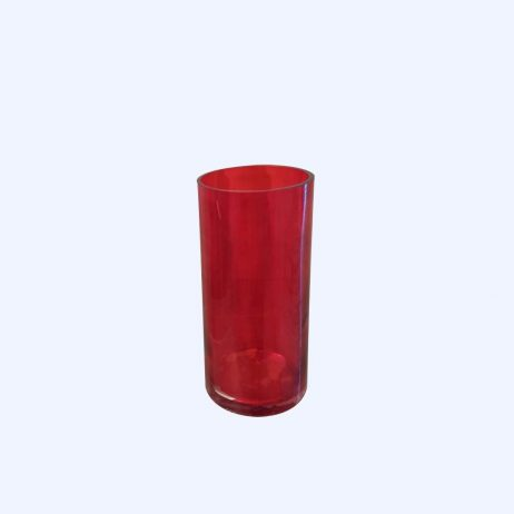 For Sale (Store) - Red Glass Cylinder
